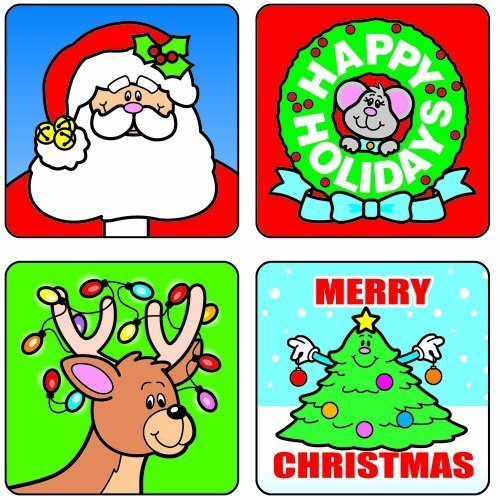 CD 0609 CHRISTMAS STICKERS
