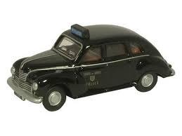 Oxford #76JJ004 1/76 Jowett Javelin- Jersey Police