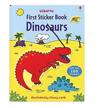 DINOSAURS FIRST STICKER BOOK