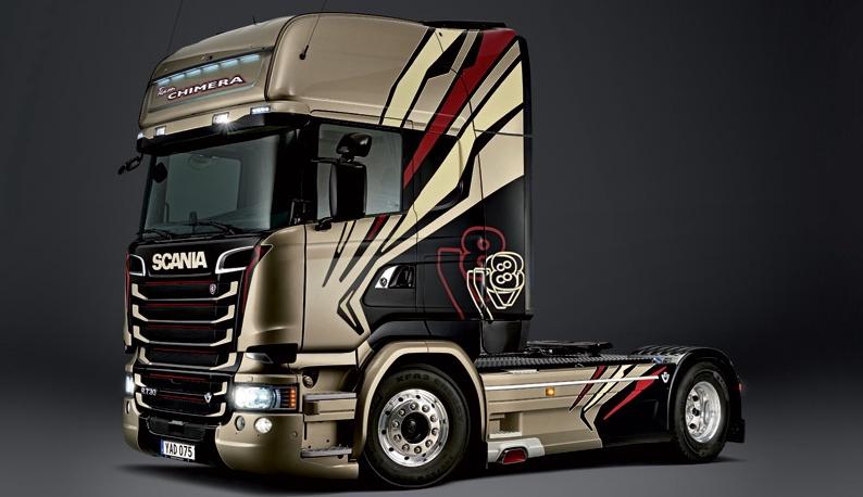 Italeri #3930 1/24 Scania R730 Streamline (Team Chimera)