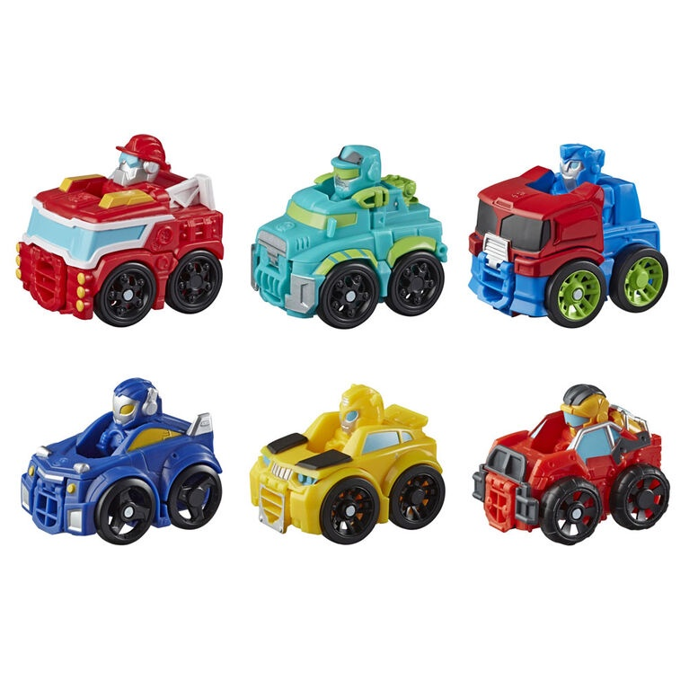 TRANSFORMERS RESCUE BOTS ACADEMY MINI BOT RACERS