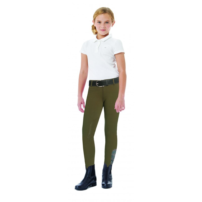 Ovation Youth Aerowick Silicone Knee Patch Tights