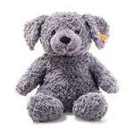 Steiff Soft Cuddly Toys, Toni Dog, Blue Grey