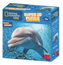 3D PUZZLE DOLPHIN 150 PCS
