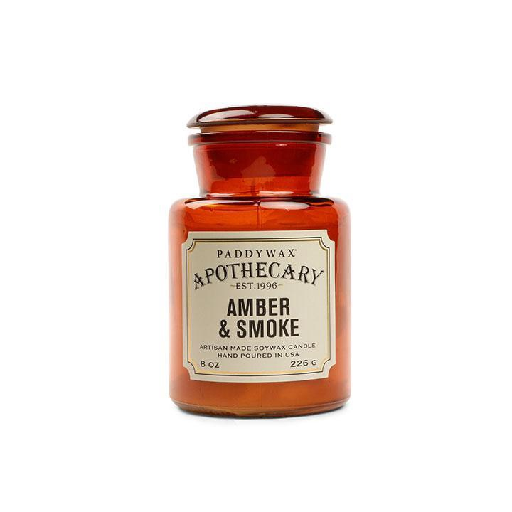 PADDYWAX - APOTHECARY CANDLE IN AMBER AND SMOKE