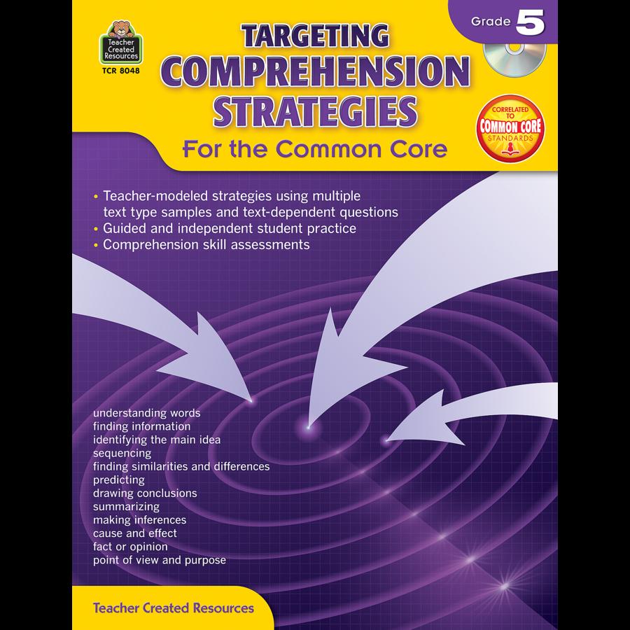 X TCR 8048 TARGETING COMPREHENSION STRATEGIES G5