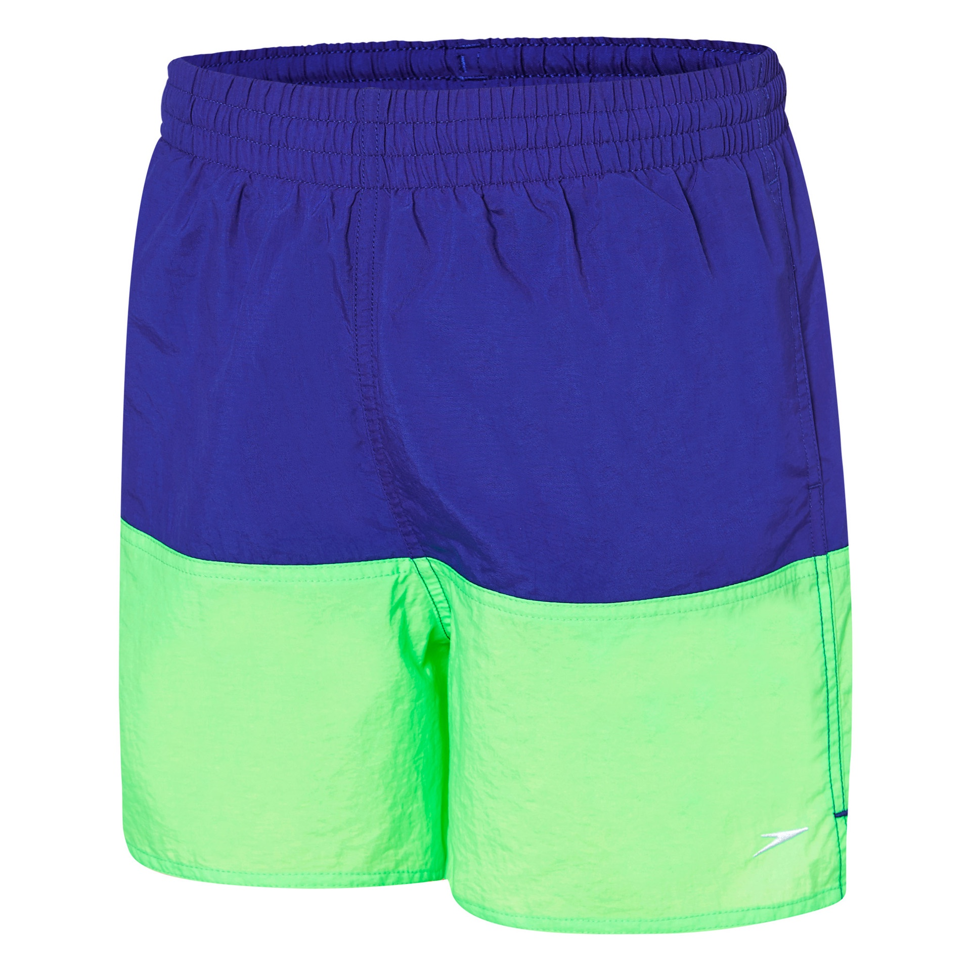 Boys Panel Solid Leisure Watershort Speed/Laser Green/Scandik