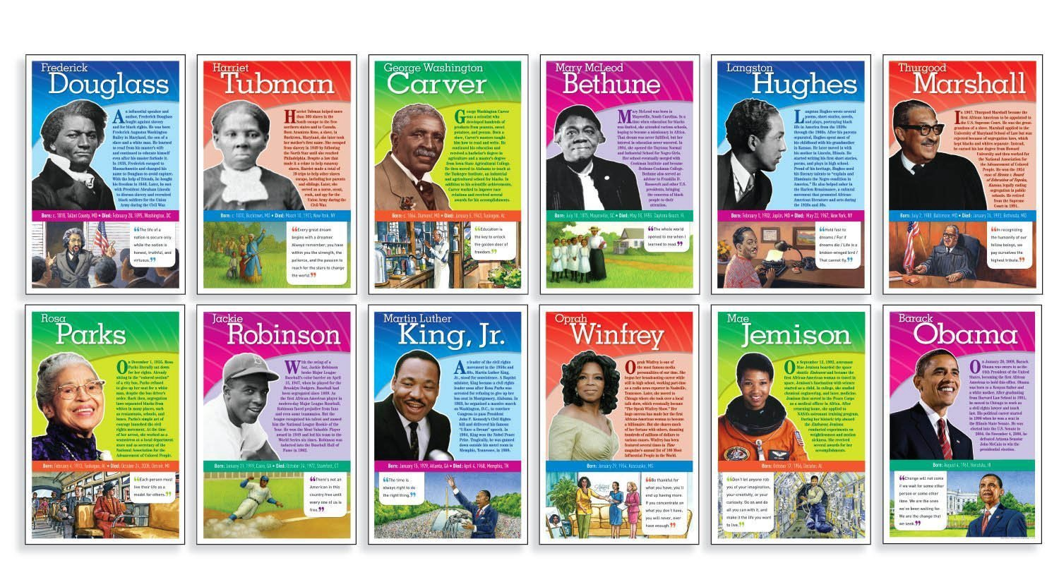 SC 516117 NOTABLE AFRICAN AMERICANS BBS