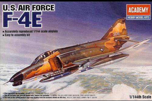 Academy #12605 1/144 F-4E