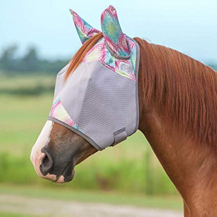 Cashel Standard Fly Mask with Ears Multi Henna