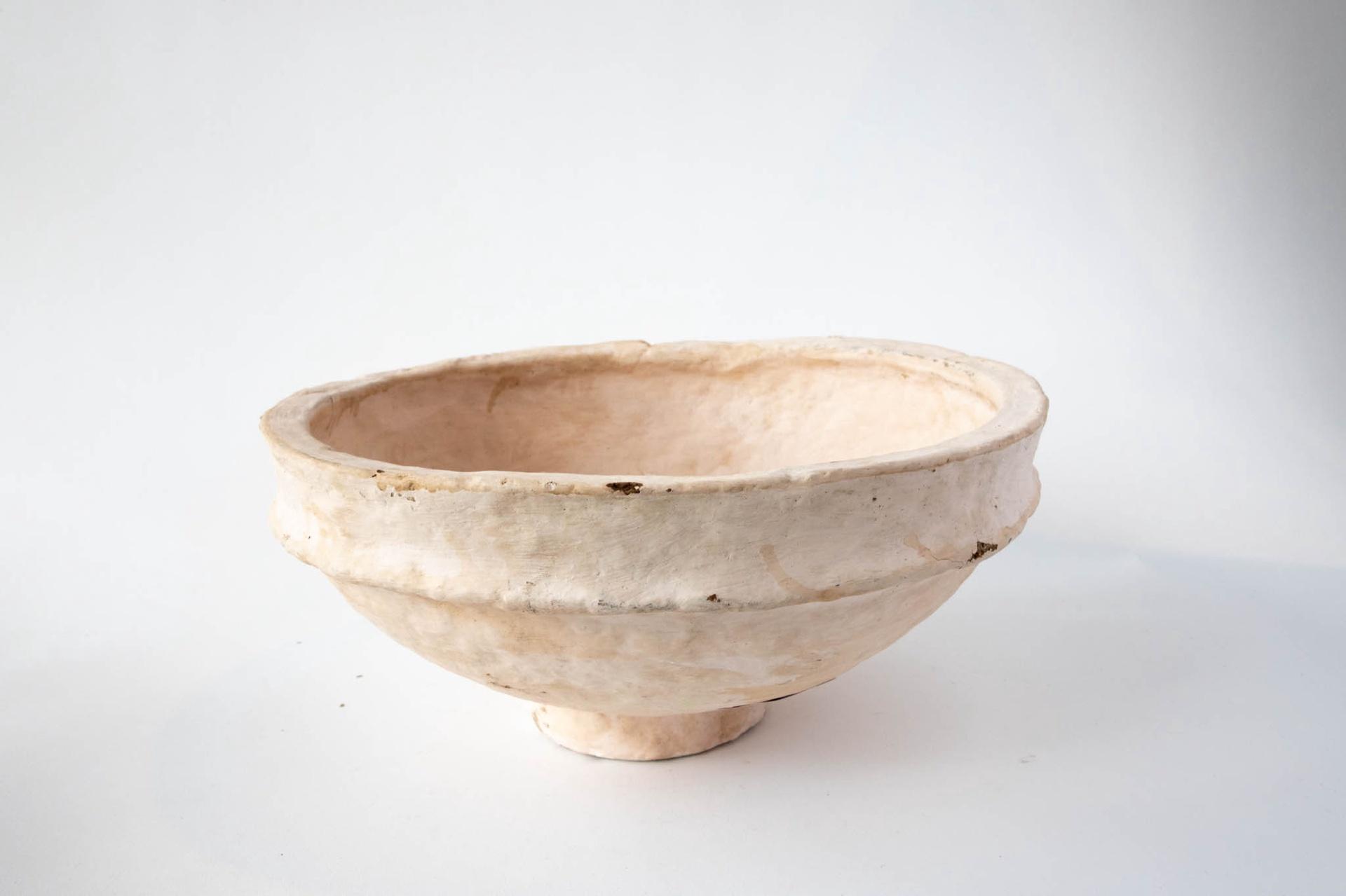 Paper Mache Villager Bowl