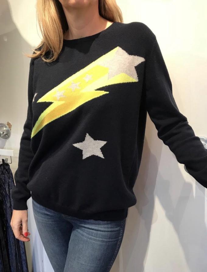 Jumper 1234 Flash Star Crew