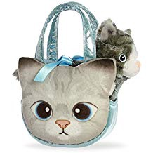 GREY TABBY CARRIER