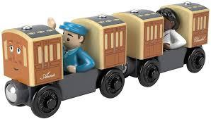 THOMAS & FRIENDS WOODEN ANNIE & CALRABEL
