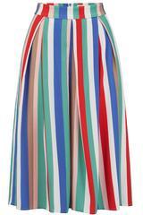 Paytan Cabana Stripe Midi Skirt