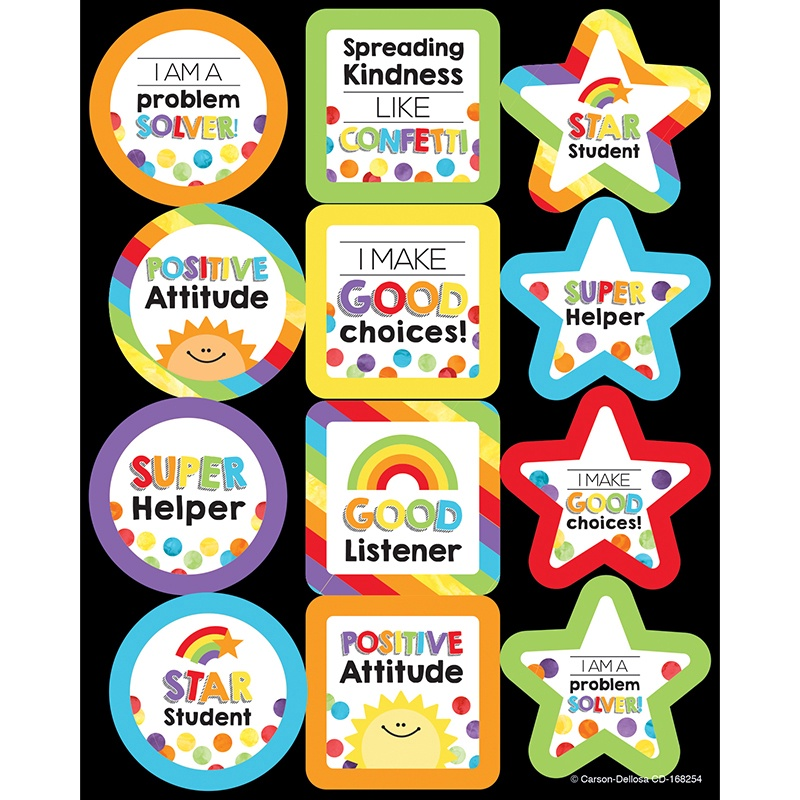 CD 168254 MOTIVATIONAL STICKERS