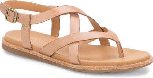 Yarbrough Criss Cross Top Flat Sandal