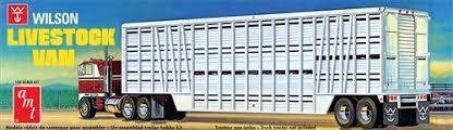 AMT #1106 1/25 Wilson Livestock Trailer