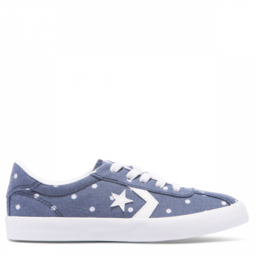 Converse Breakpoint Polka Dot Junior Low Top /Navy