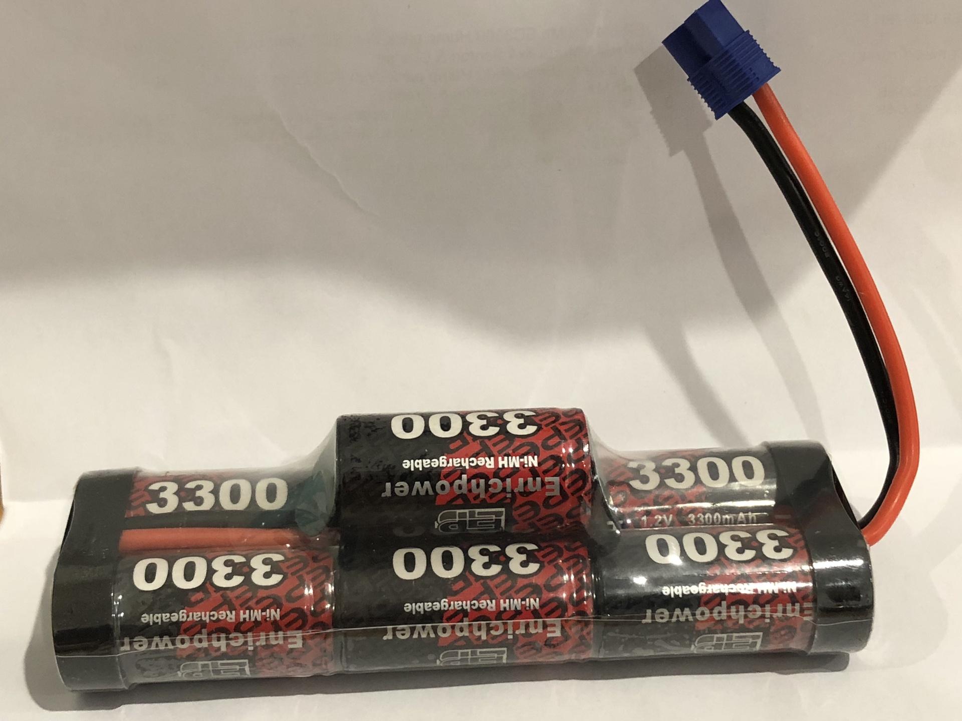 Enrichpower #EP3300-7BH-EC3 8.4V  Hump Pack