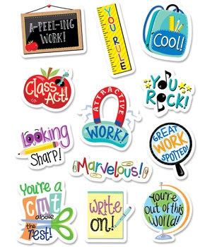 CTP 2161 STUDENT REWARD STICKERS