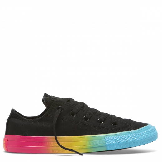 Converse  Kid CT Rainbow Low Black