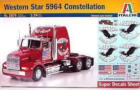 Italeri #3874 1/24 Western Star 5964 Constellation