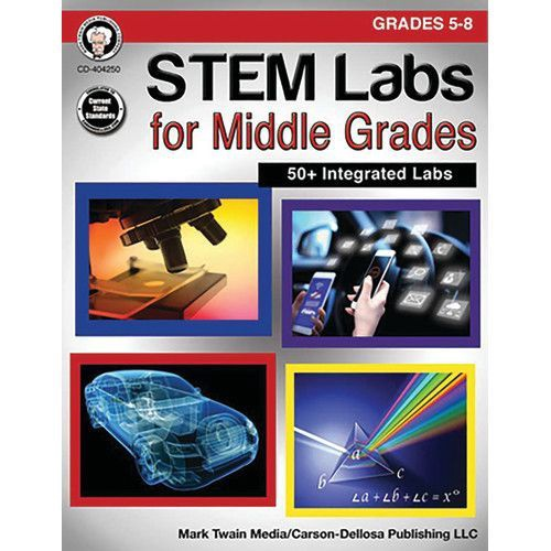 CD 404250 STEM LABS FOR MIDDLE GRADES