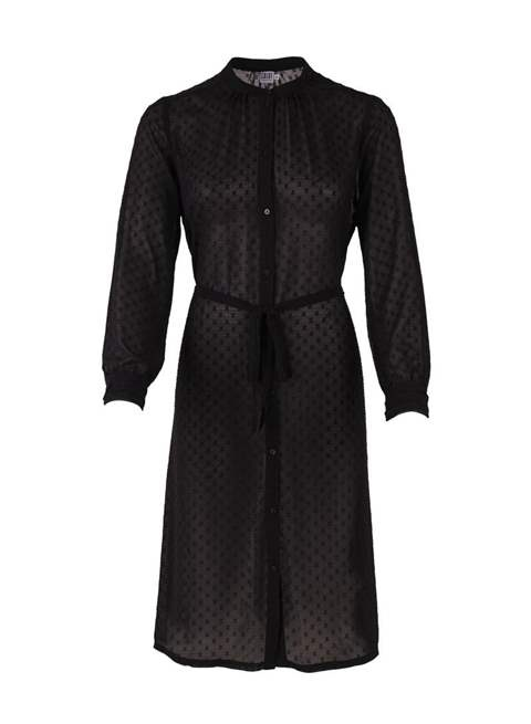 Chiffon Jacquard Shirt dress by Saint Tropez
