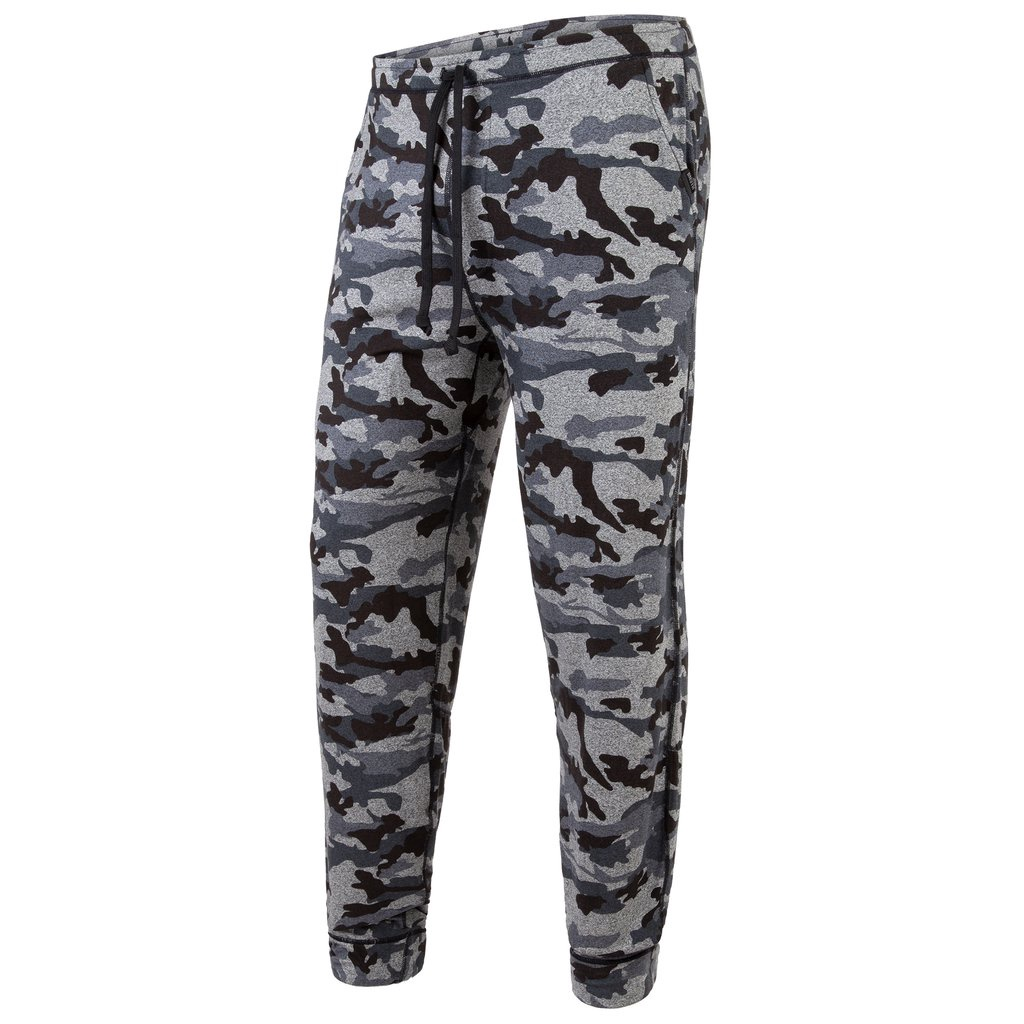 BN3TH - PJ LONG IN HEATHER CAMO BLACK