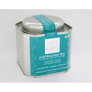 Australiana Tea Caddy Tin