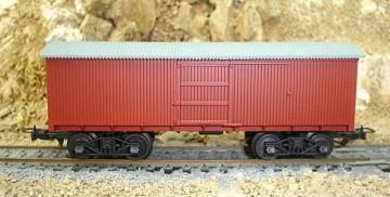 Frateschi #2078 HO Old Box Car NZR Red Oxide