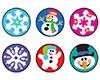 T 46152 WINTER JOYS STICKERS