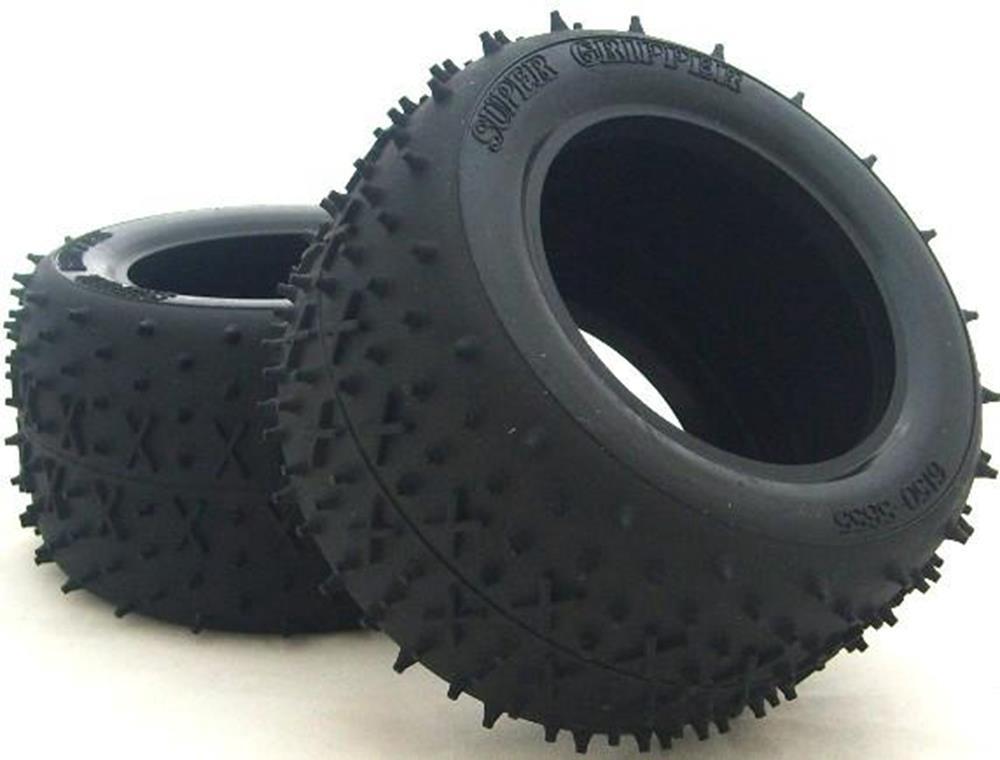 Tamiya #50450 Stadium Blitzer Rear Tyres (1pair)