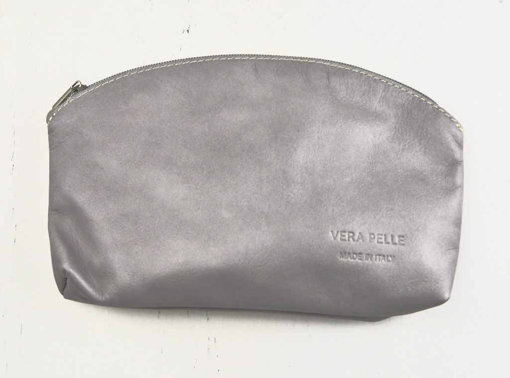 Leather Make up Bag