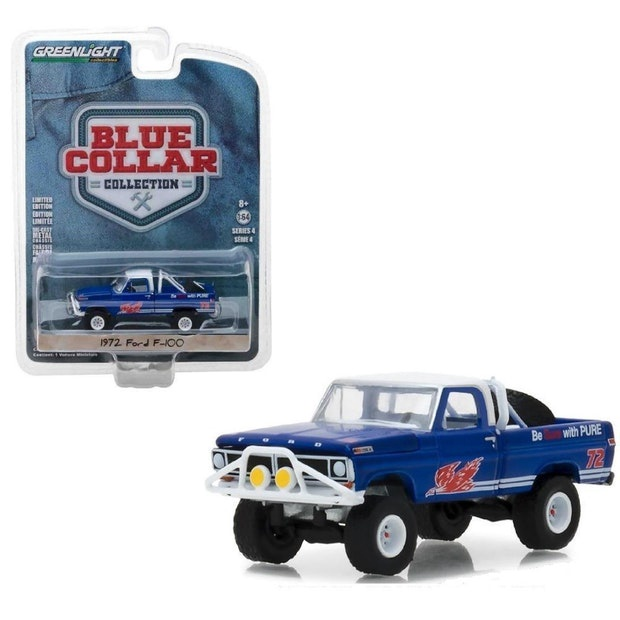 Greenlight #35100-D 1/64 1972 Ford F-100