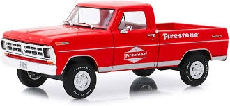 Greenlight #85043 1/24 1971 Ford F-100 Firestone Tyre Service