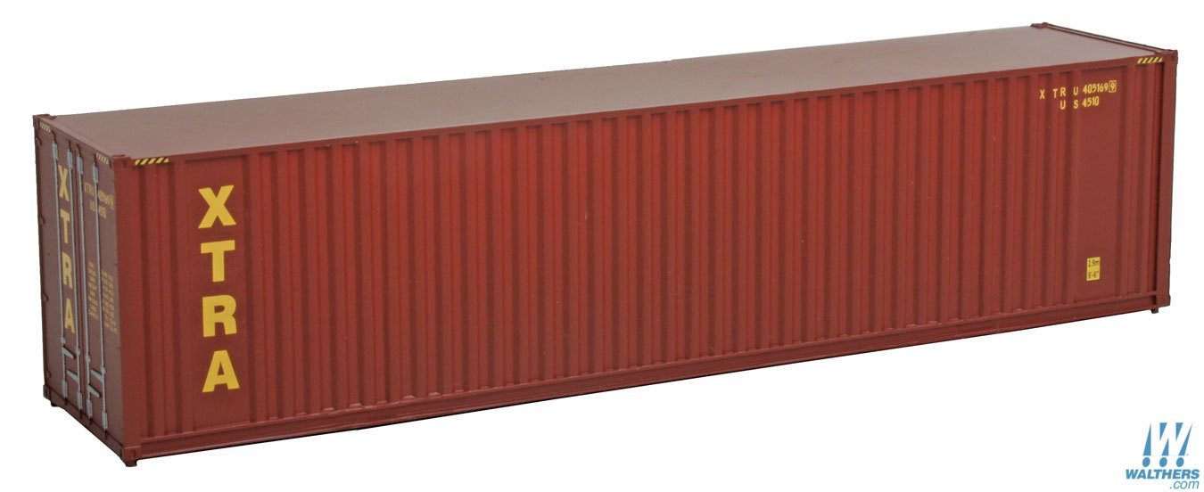 Walthers SceneMaster #949-8209 HO 40' Hi-Cube Container