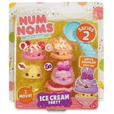 NUM NOMS SERIES 2 ICE CREAM PARTY 4PCS