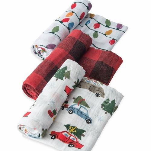 Cotton Muslin Swaddle Set | Holiday Haul