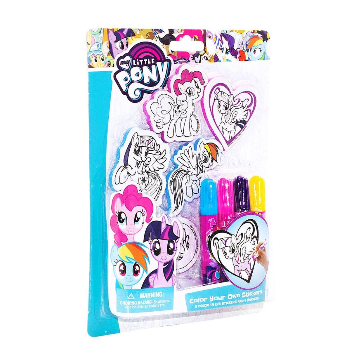 MY LITTLE PONY COLOR YOUR OWN STICKERS