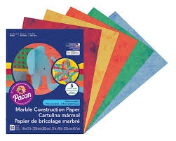 MARBLE CONSTRUCTION PAPER 50