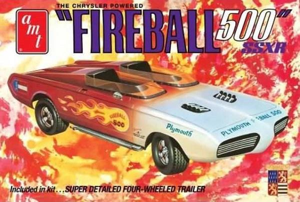AMT #1068 1/25 Fireball 500 SSXR