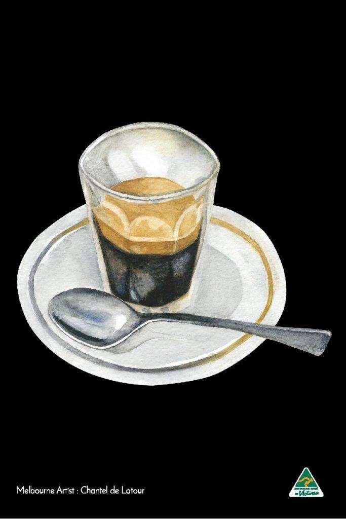 Tea Towel - Espresso Black