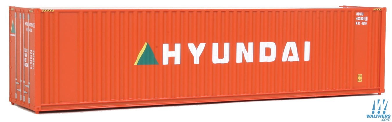 Walthers SceneMaster #949-8207 HO  40' Hi-Cube Corrugated Container