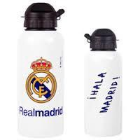 REAL MADRID ALUMINIUM DRINKS BOTTLE WHT