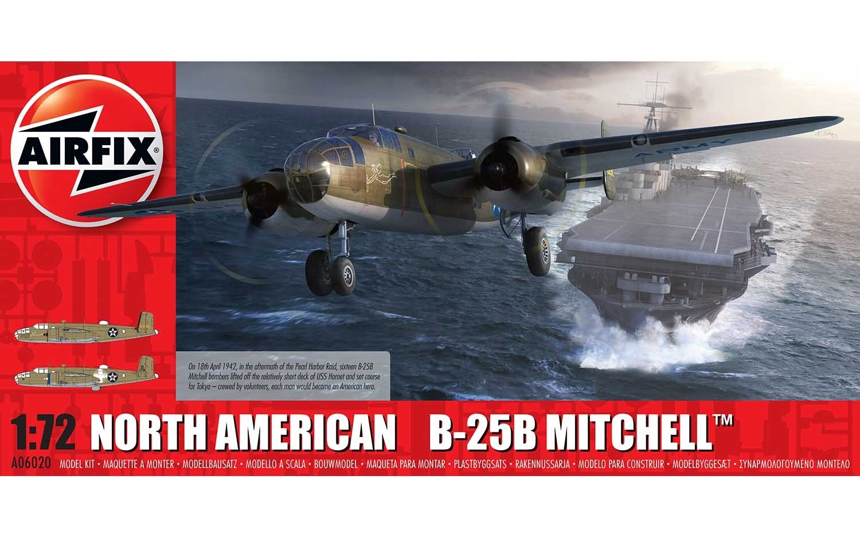 Airfix #A06020 1/72 North American B-25B Mitchell