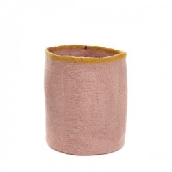 HIGH STRAIGHT BASKET - QUARTZ PINK/POLLEN