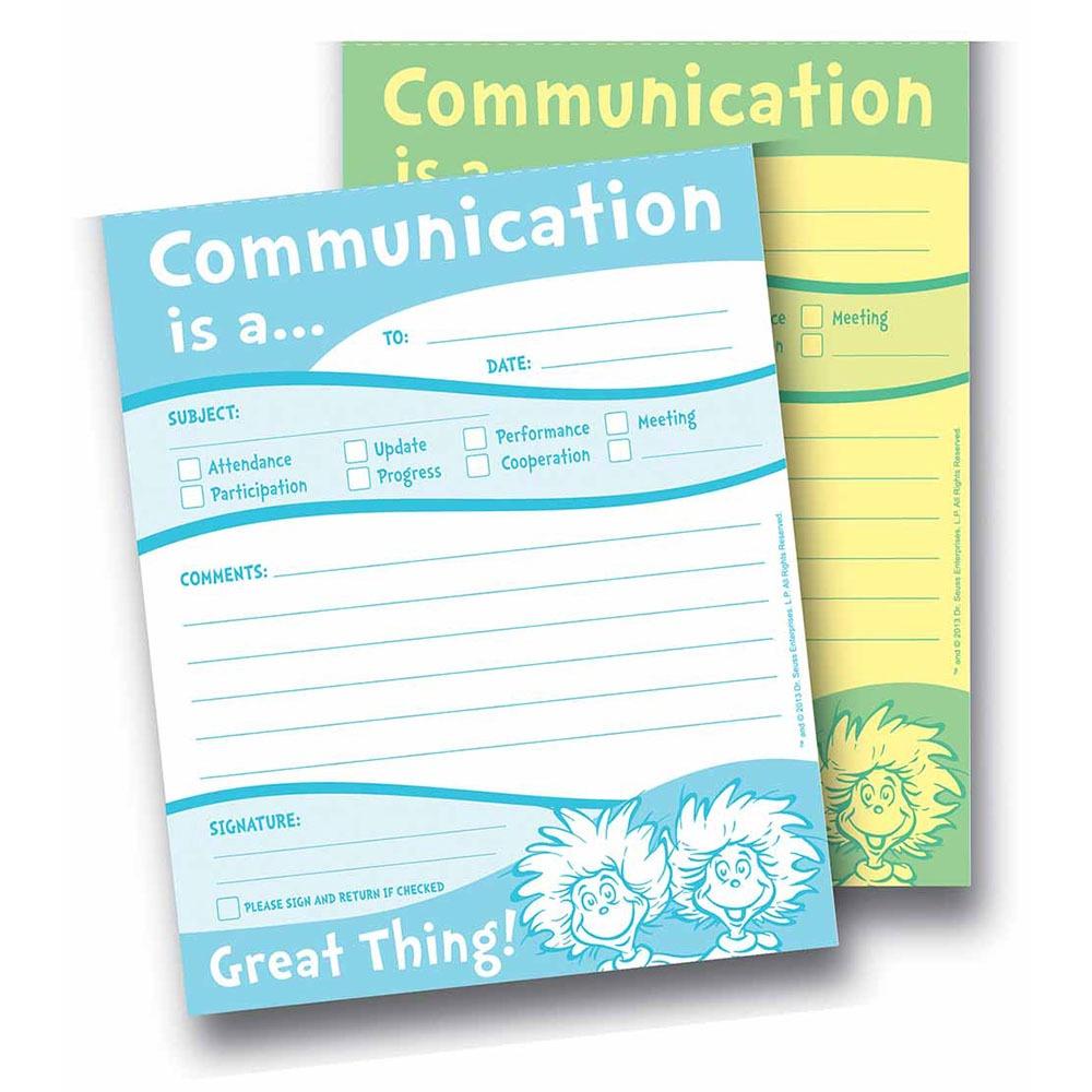 X EU 863204 DR SEUSS COMMUNICATION NOTES
