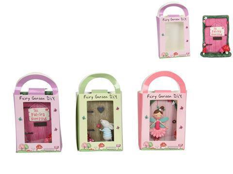 11cm Fairy Door in Gift Bag